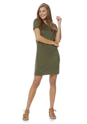 Vila T-Shirt Dress Khaki XL