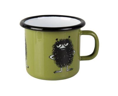 Muurla Enamel Moomim Stinky Junior Mug Cup in Green 25cl
