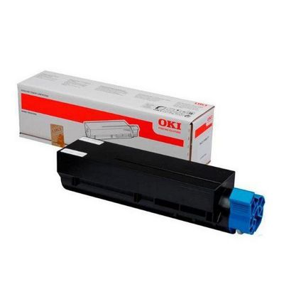 OKI Black Toner Cartridge for MB461/MB471/MB491 Mono Multi Function Printers (Yield 12,000 Pages)