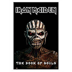 Iron Maiden Gloss Black Framed The Book Of Souls Poster