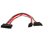 StarTech Micro SATA to SATA Power Adapter Cable