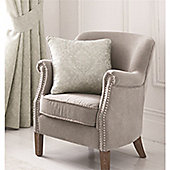 Serene Laurent Silver Cushion Cover 43x43cm