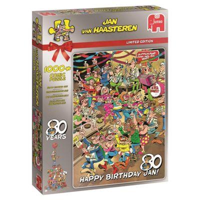 Happy 80th Birthday - 1000pc Puzzle