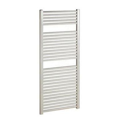 Ultraheat Chelmsford Straight White Ladder Towel Rail 900mm High x 600mm Wide