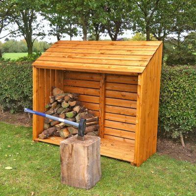 Finewood Log Store 5' x 2'