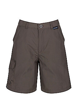 Regatta Kids Sorcer Shorts - Brown