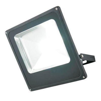 Litecraft Nood Large LED Outdoor Slim Line Flood Light, Black
