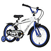 "Terrain Urban Racer 16"" Wheel White Kids Bike"