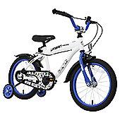 "Terrain Urban Racer 16"" Wheel White Kids Bike"