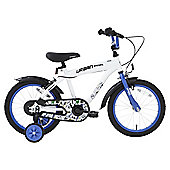 Terrain Urban Racer 16 inch Wheel White Kids Bike