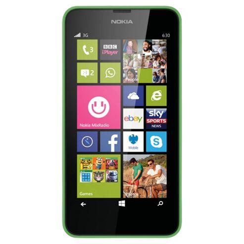 Tesco Mobile Nokia Lumia 630 Green