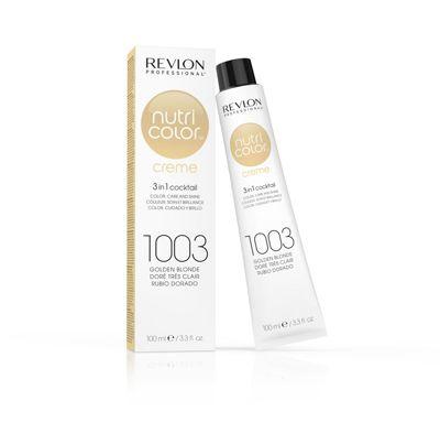 Revlon Professional Nutri Color 1003 Golden Blonde Crème Tube 100ml