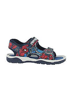 Boys Spiderman Blue Sport Sandal Beach Walking Childrens Shoes Child 7- Adult 1 - Blue