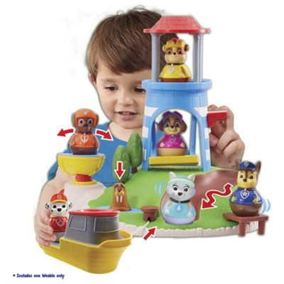 PAW PATROL PULL AND PLAY SEAL ISLAND PLAYSET