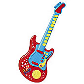 Carousel Red Rock Star Guitar