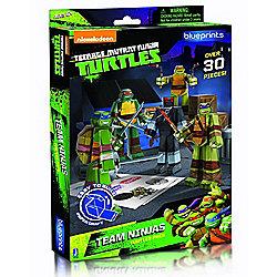 Teenage Mutant Ninja Turtles Papercraft Team Turtle Pack - Action Figures
