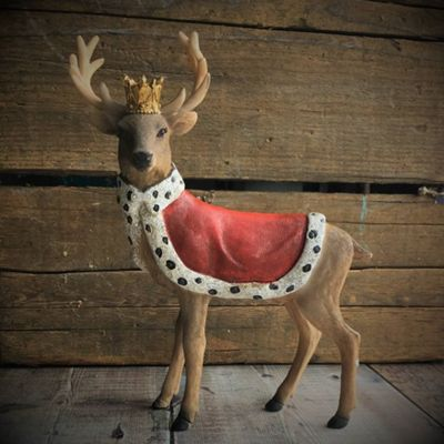 Regal Stag Christmas Ornament