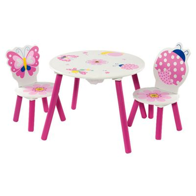 First Baby Safety Butterfly Table and Chair Set