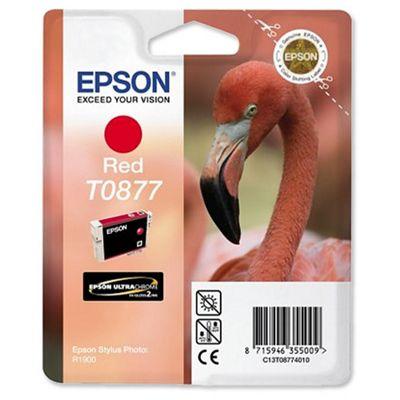 Epson Singlepack Red T0877 Ultra Gloss High-Gloss 2