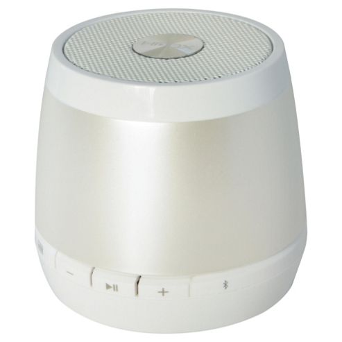 HMDX Jam Wireless Bluetooth Speaker, White