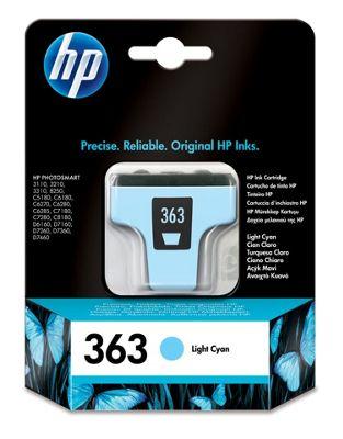 HP 363 Light Cyan Original Ink Cartridge