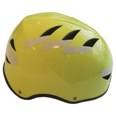 Hardnutz, Hi Vis 3M Reflective, Adults Bike Helmet, 54-58cm