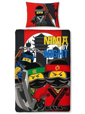 Lego Ninjago Movie Urban Single Duvet Cover and Pillowcase Set