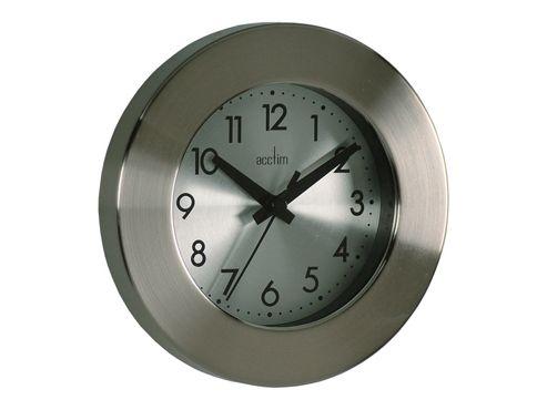 Acctim 26027 Button Metal Wall Clock