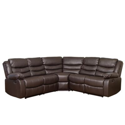 Sofa Collection Brownworth Reclining Corner Suite - Brown