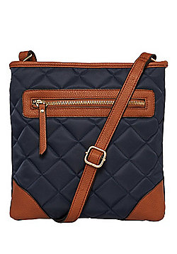 F&F Quilted Cross-Body Bag