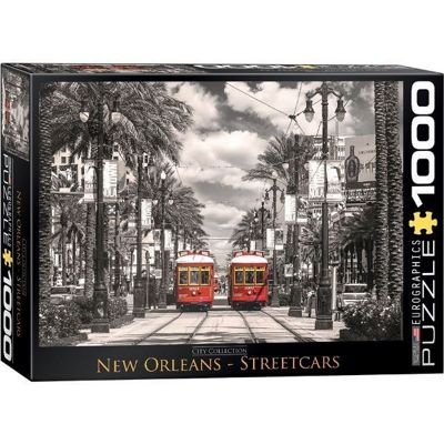 New Orleans Streetcars - 1000pc Puzzle