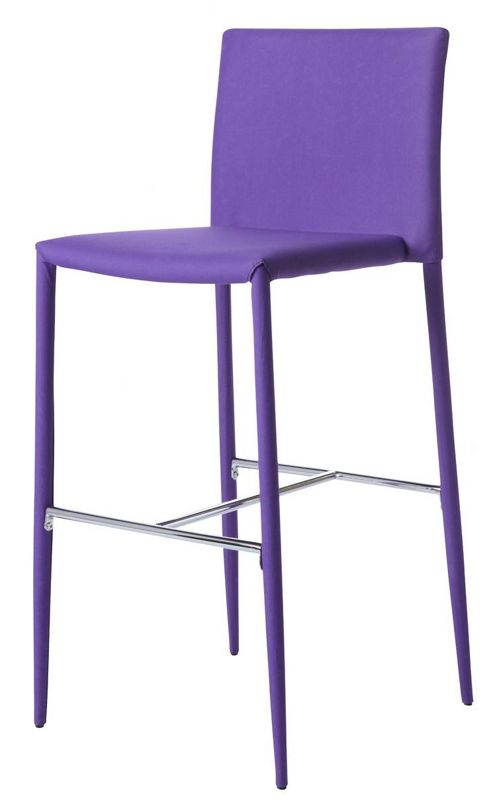 Wilkinson Furniture Kali Bar Stool - Purple