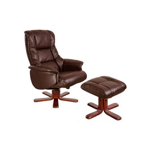 Modal Chicago Luxury Recliner in Nut Brown