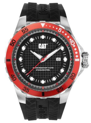 CAT P52 Sport Mens Rubber Date Watch YN.141.21.128