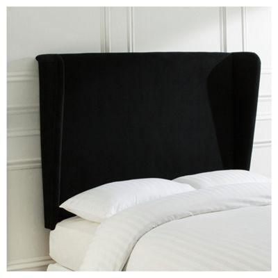buy canton king size headboard, black velvet from our headboards, Headboard designs
