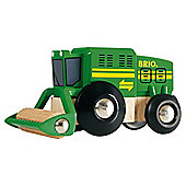 Brio Harvester Truck, wooden toy
