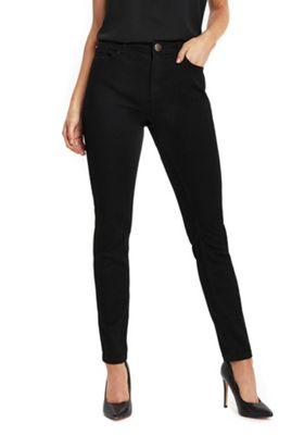 Wallis Petite Ellie Skinny Jeans 16 Black