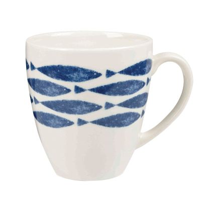 Queens Couture Fishie Downstream Crush Mug