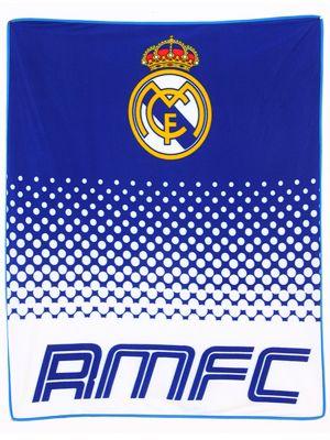 Real Madrid FC Fade Fleece Blanket