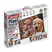 Peg Board Pixel Photo 16 and Pegs - Art for Kids - 25,200 Pieces - Quercetti