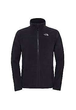 The North Face Mens 100 Glacier Full Zip Fleece - Black