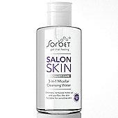 Micellar Water - Salon Skin 3-in-1 Micellar Cleansing Water Skin Cleanser -
