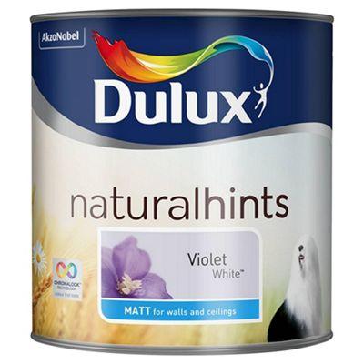 Dulux Matt Violet White 2.5L