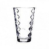 Ravenhead Dishwasher Stackable Lattice Hi-Ball Glass, 30cl, (Transparent)