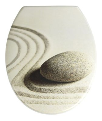 Wenko Sand and Stone Toilet Seat