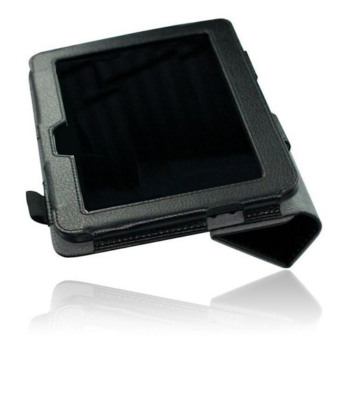 U-bop NeoORBIT Horizontal Kindle Flip Case Black - For Amazon Kindle Paperwhite