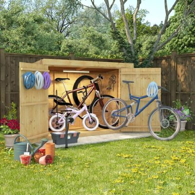 BillyOh Mini Master Tongue and Groove Pent Store Shed 6x3