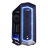 Cube ViperX VR Ready Watercooled Gaming PC AMD Ryzen 7 Eight Core with Asus Strix Geforce GTX 1080Ti 11Gb GPU AMD Ryzen 7 Seagate 2Tb SSHD with 8Gb SS