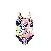 F&F Flamingo Photographic Print Swimsuit - Multi
