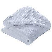 Clair de Lune Luxury Hooded Towel (Honeycomb White)